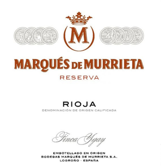 Marques de Murrieta Rioja Reserva 2012