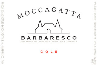 Moccagatta Barbaresco Cole 2014