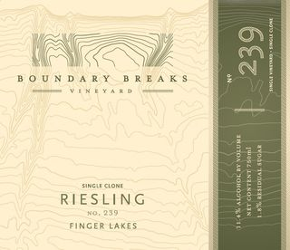 Boundary Breaks No. 239 Riesling 2016