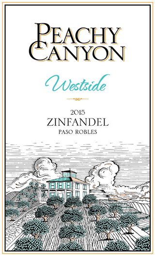 Peachy Canyon Westside Zinfandel 2015