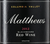 Matthews Blackboard Red 2012