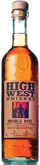 High West Distillery Double Rye!