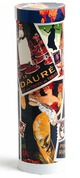 True Fabrications Vintage Collage Tube Wine Gift Box