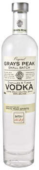 Gray's Peak Small Batch Vodka