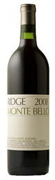 Ridge Vineyards Monte Bello 2008