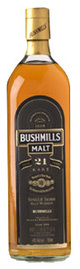 Bushmills Madeira Finish Single Malt Irish Whiskey 21 year old