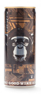 The Infinite Monkey Theorem Back Alley White Can