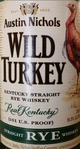 Wild Turkey Kentucky Straight Rye Whiskey 101 Proof