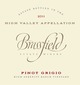Brassfield High Serenity Ranch Pinot Grigio 2011