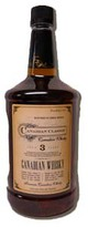 Canadian Classic Canadian Whiskey 3 year old