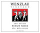 Wenzlau Estate Pinot Noir 2011