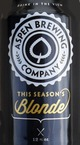 Aspen Brewing Company This Season's Blonde Ale