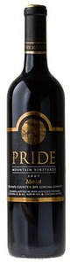 Pride Mountain Vineyards Merlot 2011