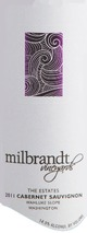 Milbrandt The Estates Cabernet Sauvignon 2011