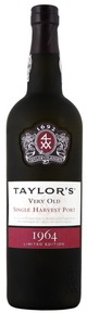 Taylor Fladgate Very Old Single Harvest Port 1964