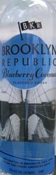 Brooklyn Republic Blueberry Coconut Vodka