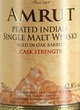 Amrut Peated Indian Single Malt Whisky Cask Strength