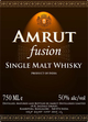 Amrut Fusion Single Malt Whisky