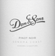Don & Sons Sonoma Coast Pinot Noir 2012