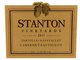 Stanton Vineyards Oakville Napa Valley Cabernet Sauvignon 2011