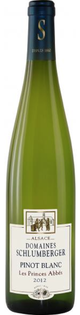 Domaines Schlumberger Les Princes Abbes Pinot Blanc 2012