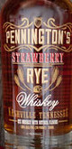 Pennington's Whiskey Strawberry Rye