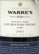 Warre's Late Bottled Vintage Port 2003