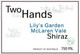 Two Hands Lily's Garden Shiraz 2012