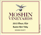 Moshin Russian River Valley Pinot Noir 2012