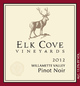 Elk Cove Willamette Valley Pinot Noir 2012