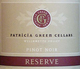 Patricia Green Reserve Pinot Noir 2013