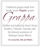 Peach Street Distillers Grappa of Viognier