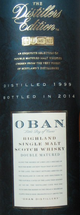 Oban Distiller's Edition 1999