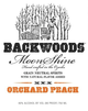 Backwoods Craft Spirits Orchard Peach Moonshine