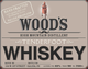 Wood's High Mountain Distillery Tenderfoot Whiskey