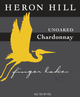 Heron Hill Classic Unoaked Chardonnay 2012
