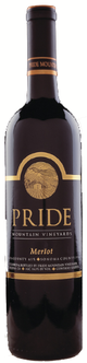 Pride Mountain Vineyards Merlot 2012