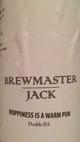 Brewmaster Jack Hoppiness Is A Warm Pun Double IPA