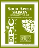Epic Brewing (Utah) Sour Apple Saison
