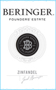 Beringer Founders' Estate Zinfandel 2013