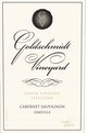 Goldschmidt Game Ranch Cabernet Sauvignon