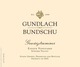 Gundlach Bundschu Estate Vineyard Gewürztraminer 2013