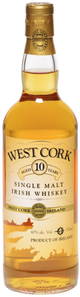 West Cork Single Malt Irish Whiskey 10 year old