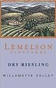 Lemelson Dry Riesling 2013