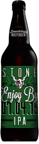 Stone Brewing Co. Enjoy By 07.04.15 IPA