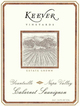 Keever Vineyards Cabernet Sauvignon 2012