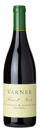 Varner Three Blocks Spring Ridge Vineyard Pinot Noir 2012