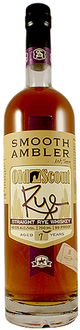 Smooth Ambler Old Scout Straight Rye Whiskey 7 year old