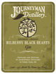 Journeyman Distillery Bilberry Black Hearts Gin