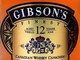 Gibson's Finest Canadian Whisky 12 year old